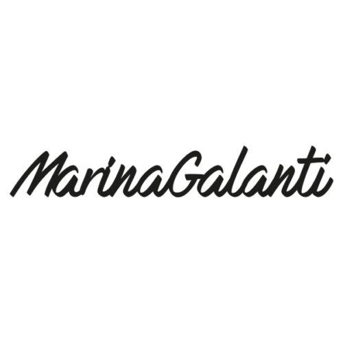 Logo Marina Galanti Bags, schwarz auf weissem Hintergrund