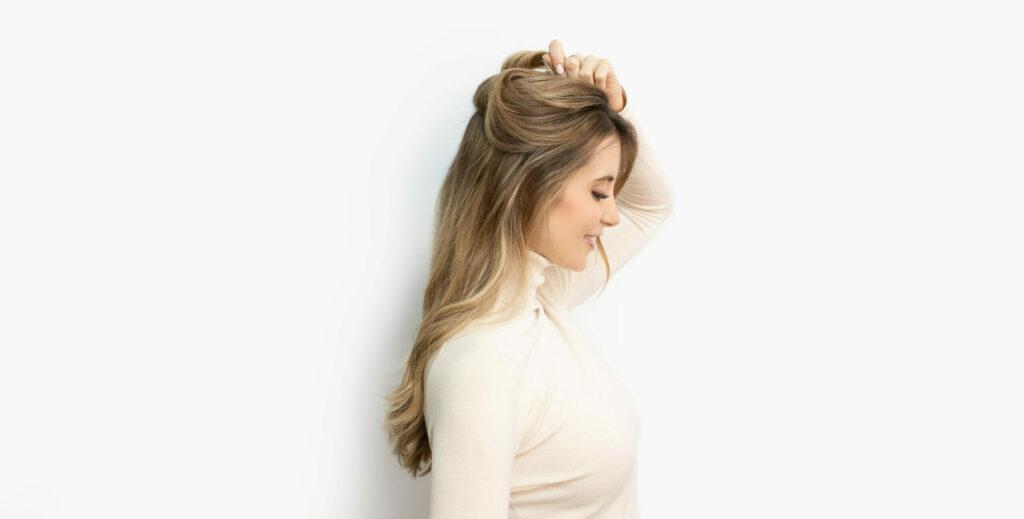 Trisa Magic Pony Pferdeschwanz Step 2 Haare abtrennen